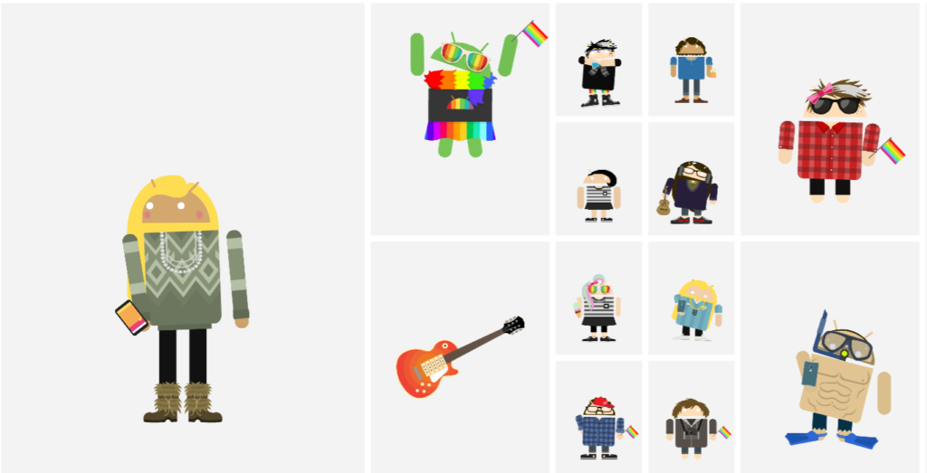 A Tool To Create Your Own Android Avatar Shotsinshorts
