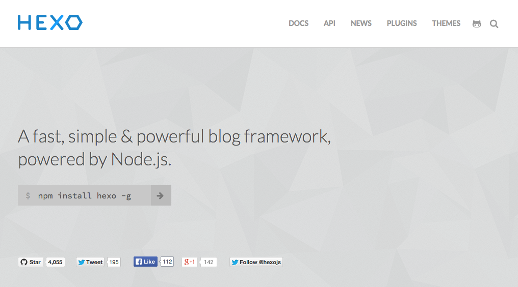 blog engine